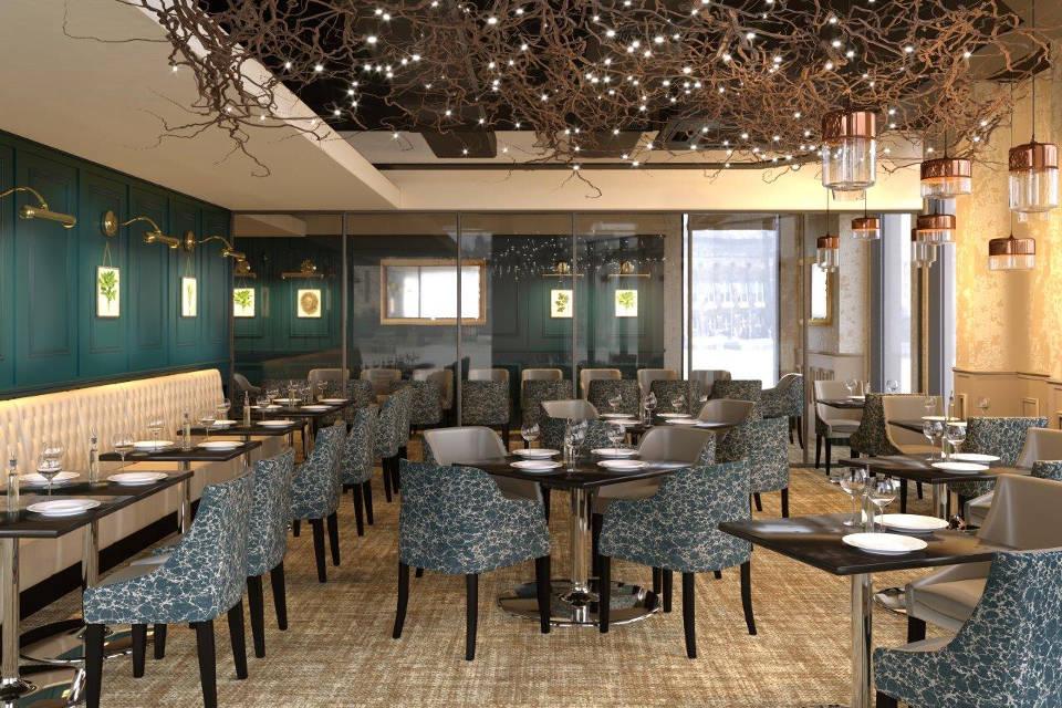 Arnold's Restaurant Leeds Interior