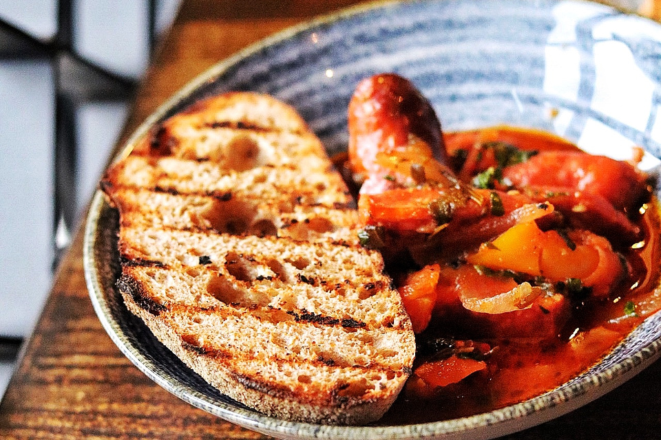 The Maven Leeds example dish