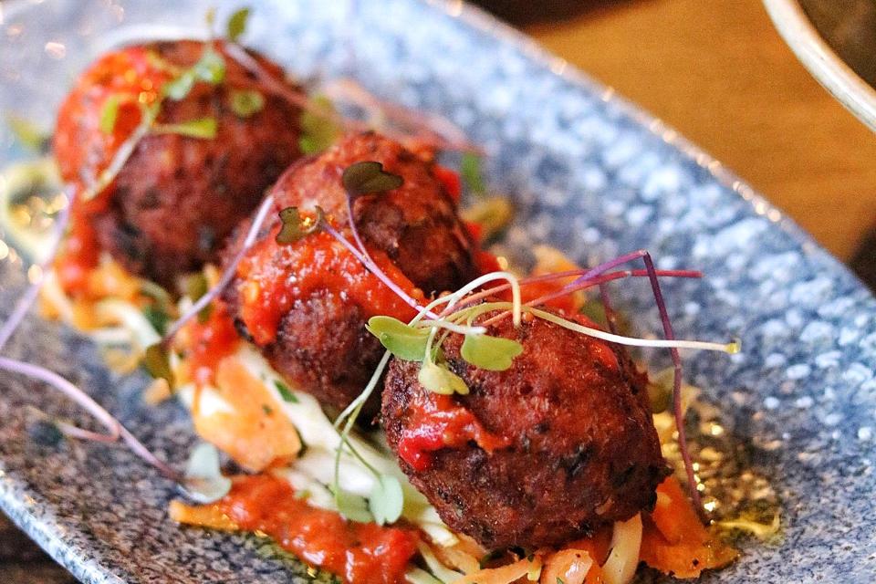 The Maven Leeds Restaurant example dish