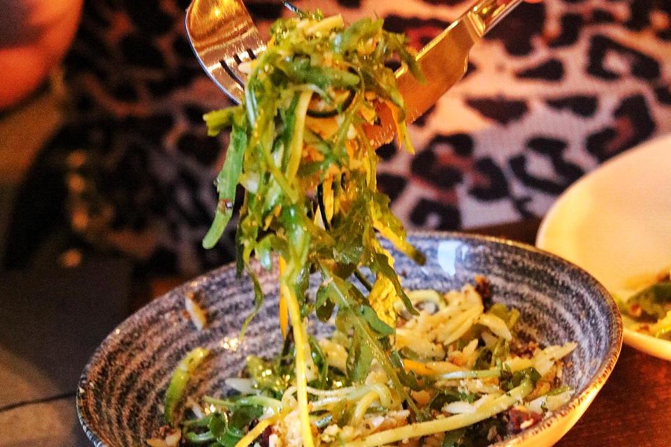 The Maven Leeds Restaurant Vegetarian Dish