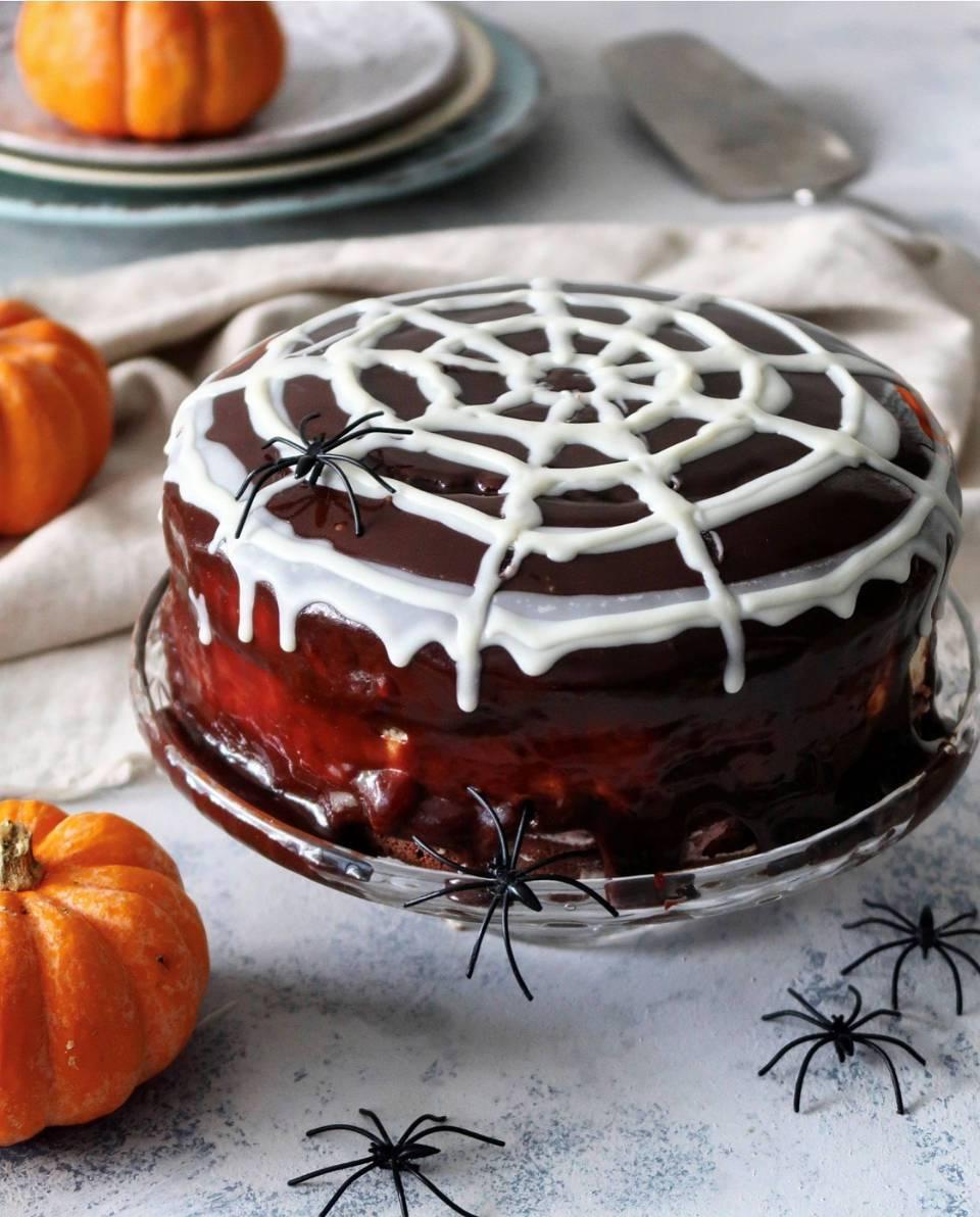 Pumpkin Spice Cake Recipe Halloween
