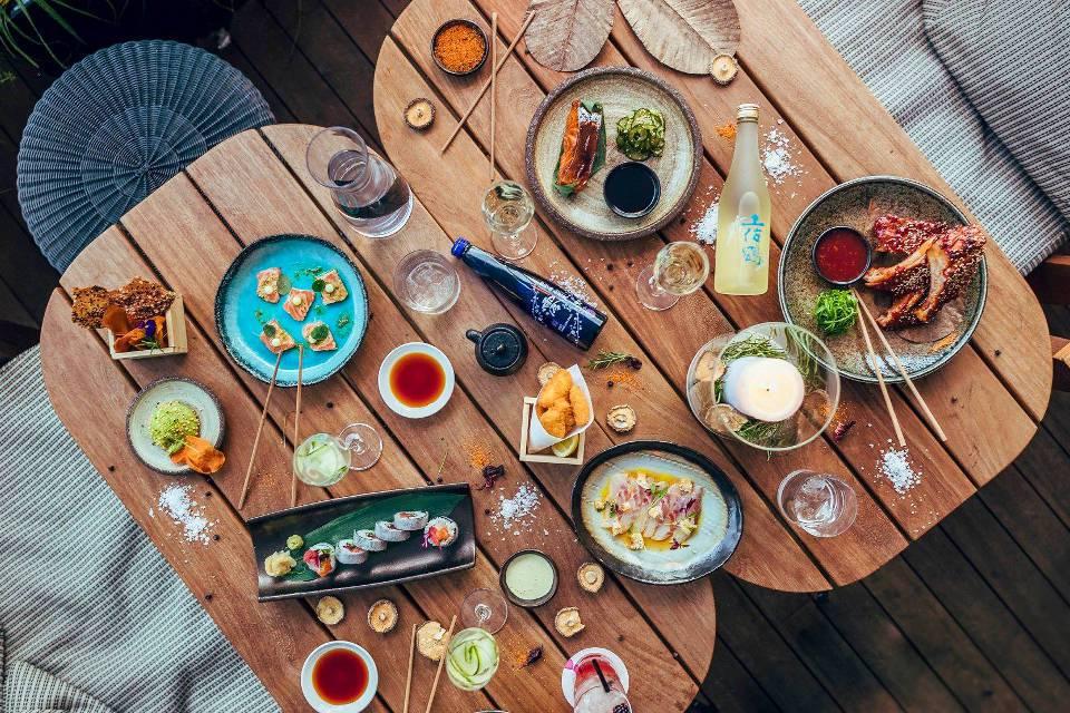 Issho Restaurant Leeds Fine Dining Table
