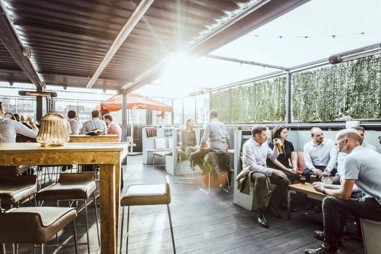 INC Sheffield Sheffield Rooftop Bar Interior