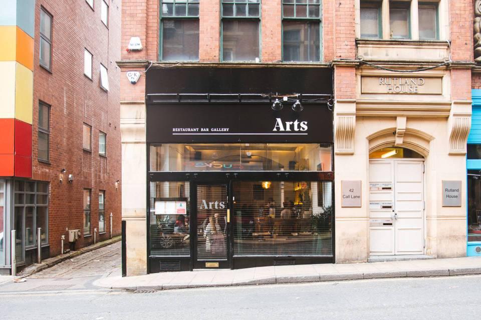 Arts Cafe Leeds Exterior