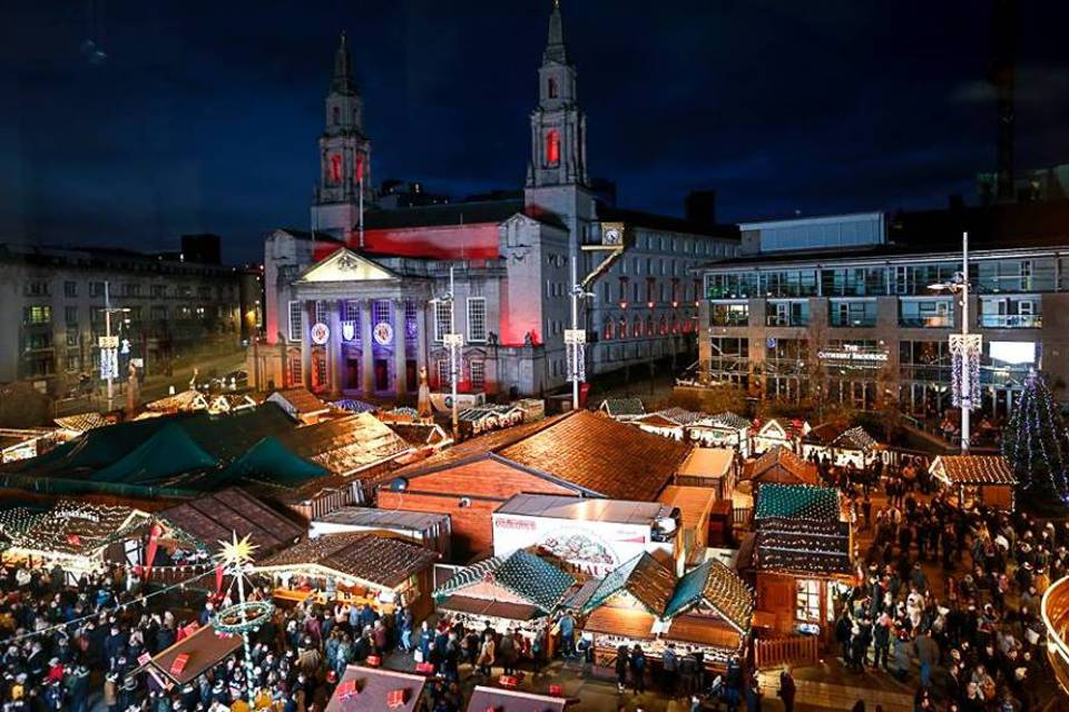 Leeds Christmas Market Overview