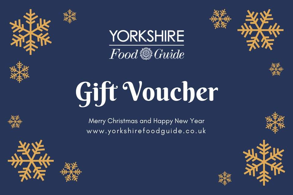 Yorkshire Food Guide Gift Vouchers