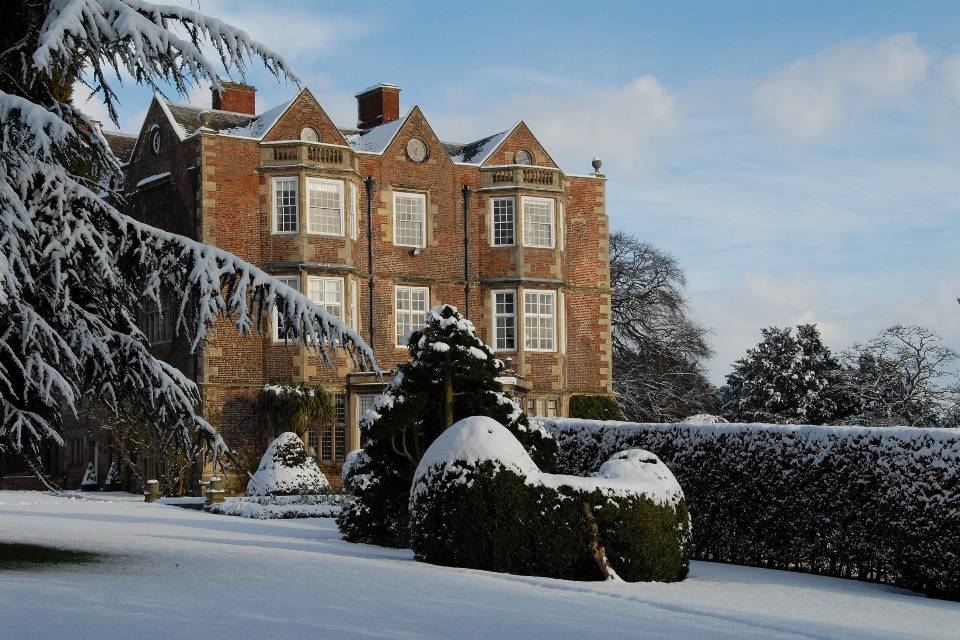 Goldsborough Hall Harrogate Review in the snow