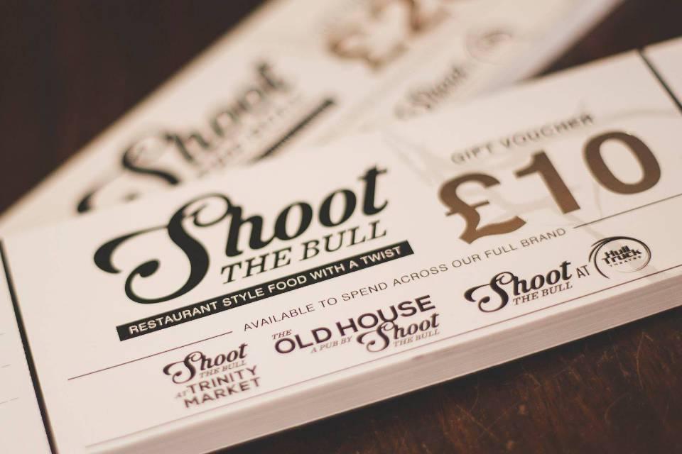 Shoot The Bull Hull Gift Vouchers