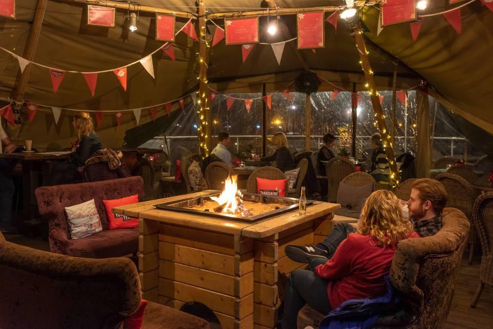 The Star Inn The City York Teepee Interior