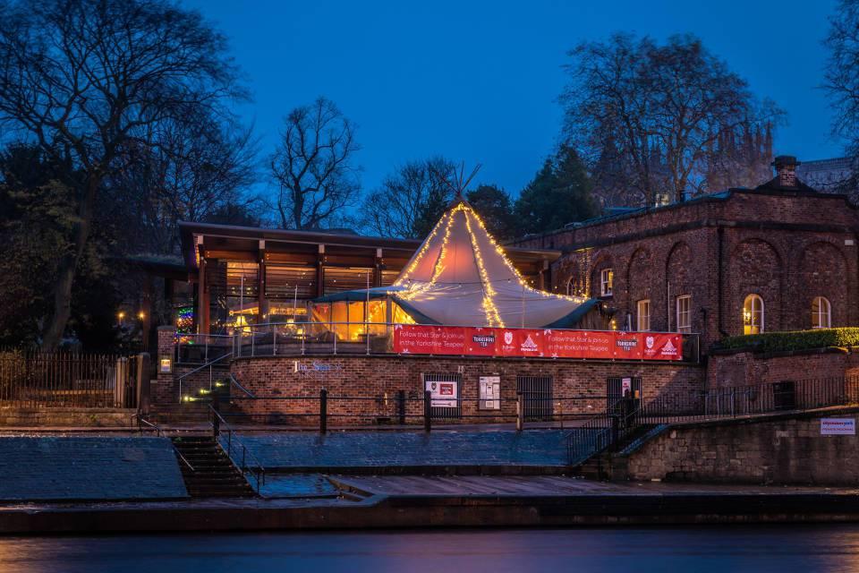 The Star Inn The City York Teepee exterior