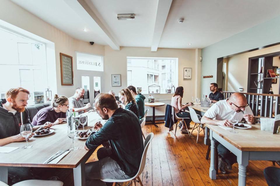 The Milestone Sheffield Restaurant Interior