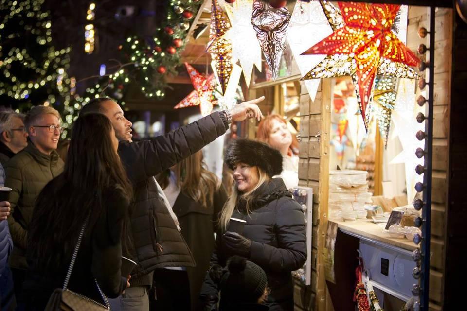 York Christmas Market Stalls