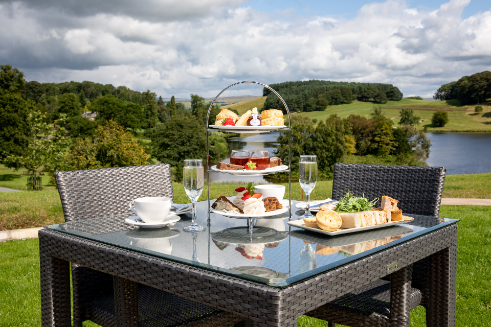 Afternoon tea - The View Restaurant - Coniston Hotel