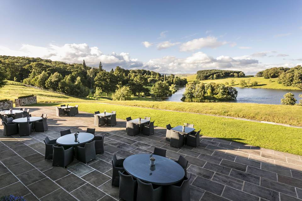 The Coniston Hotel Skipton Lake Huntsman Lodge Views