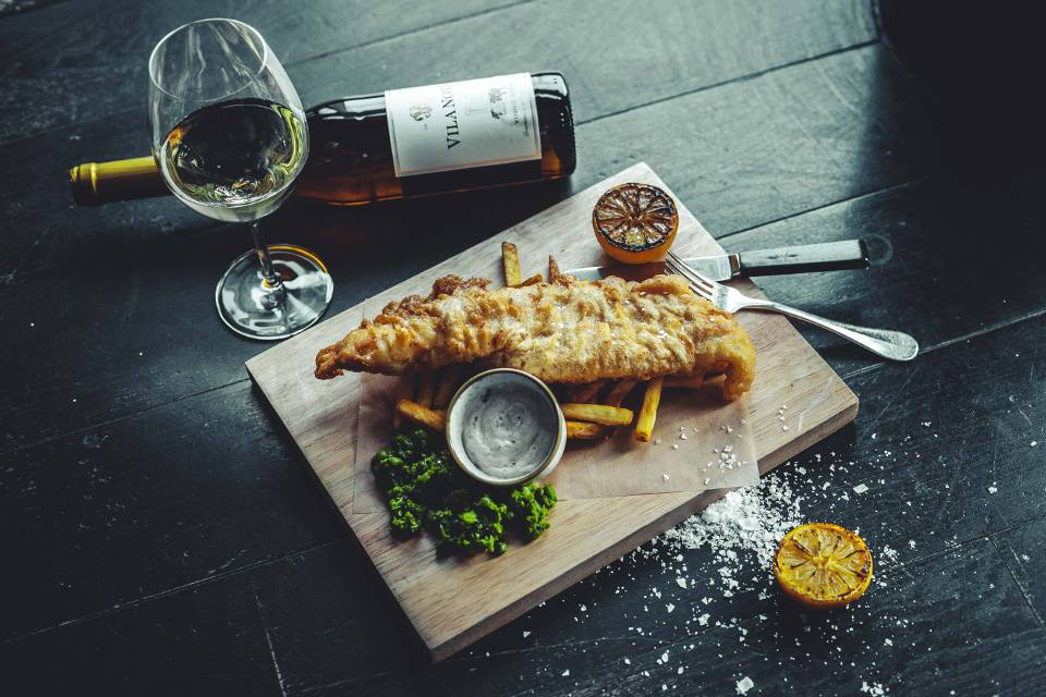 Crafthouse Leeds New Menu Fish and Chips