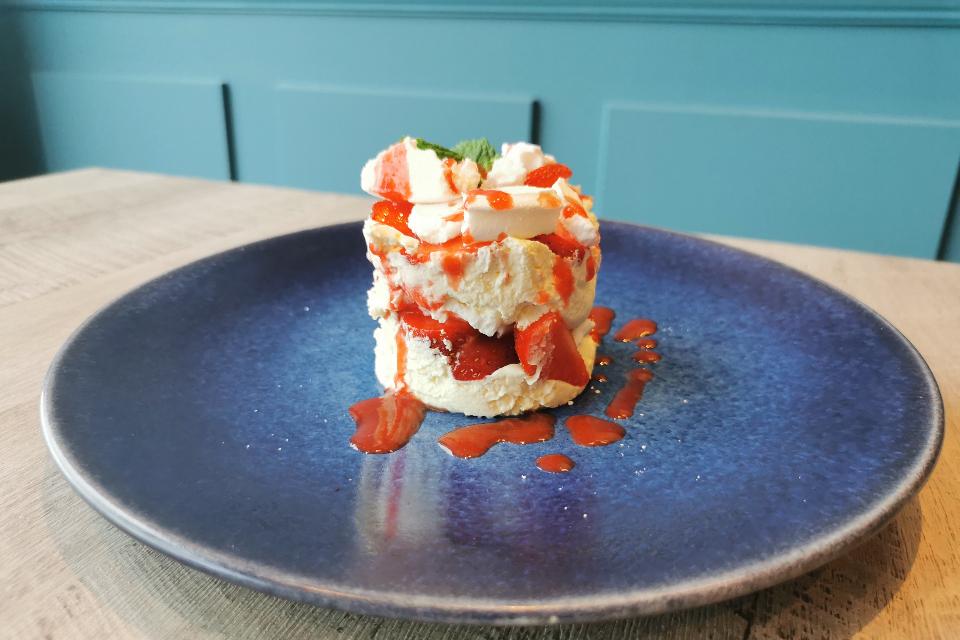 Dessert - The View Restaurant Coniston Hotel