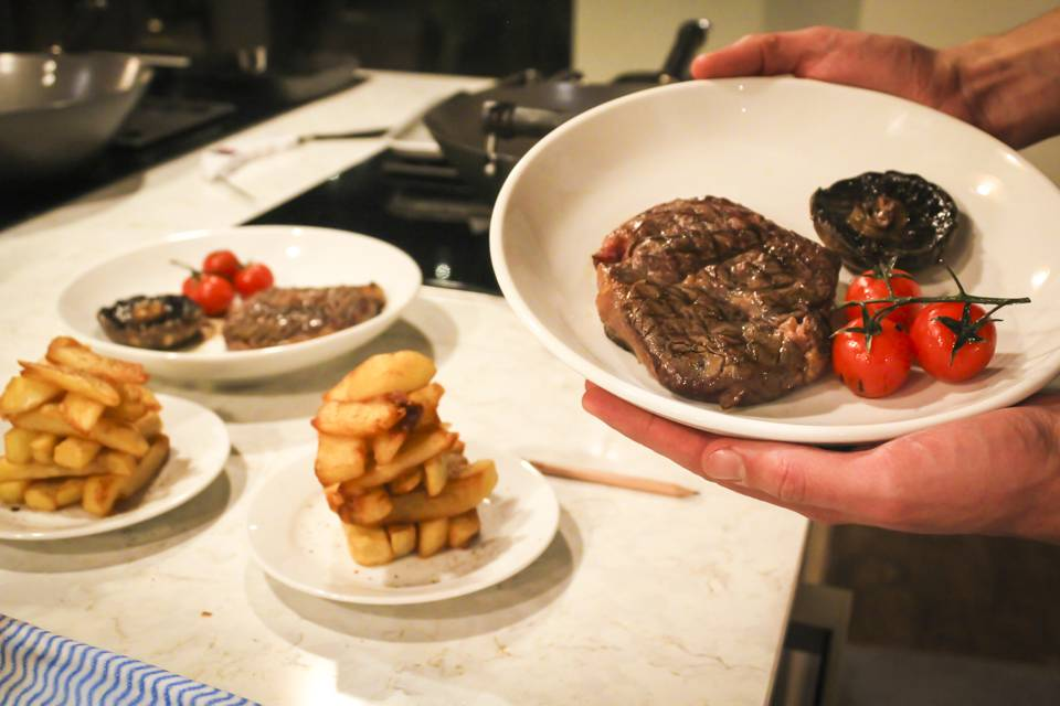 The Cookery School at The Grand Steak Class result