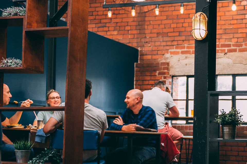 Cutlery Works Sheffield people dining