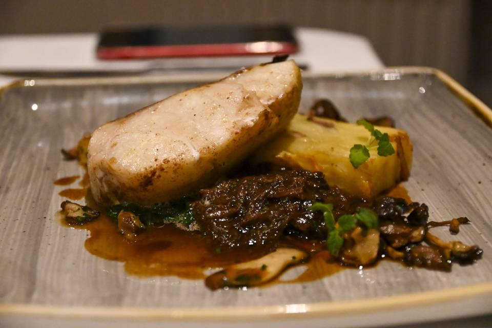 Devonshire Fell Burnsall cod dish