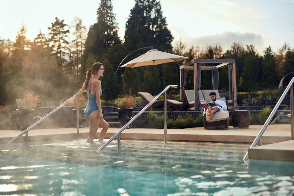 Grantley Hall outdoor pool