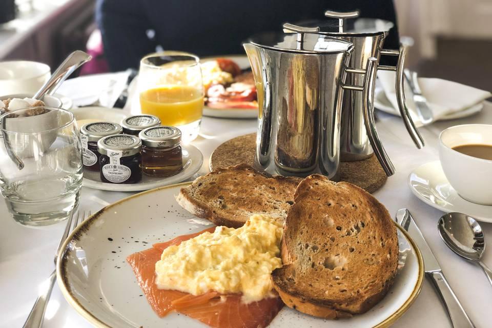 Devonshire Fell Burnsall Breakfast dish