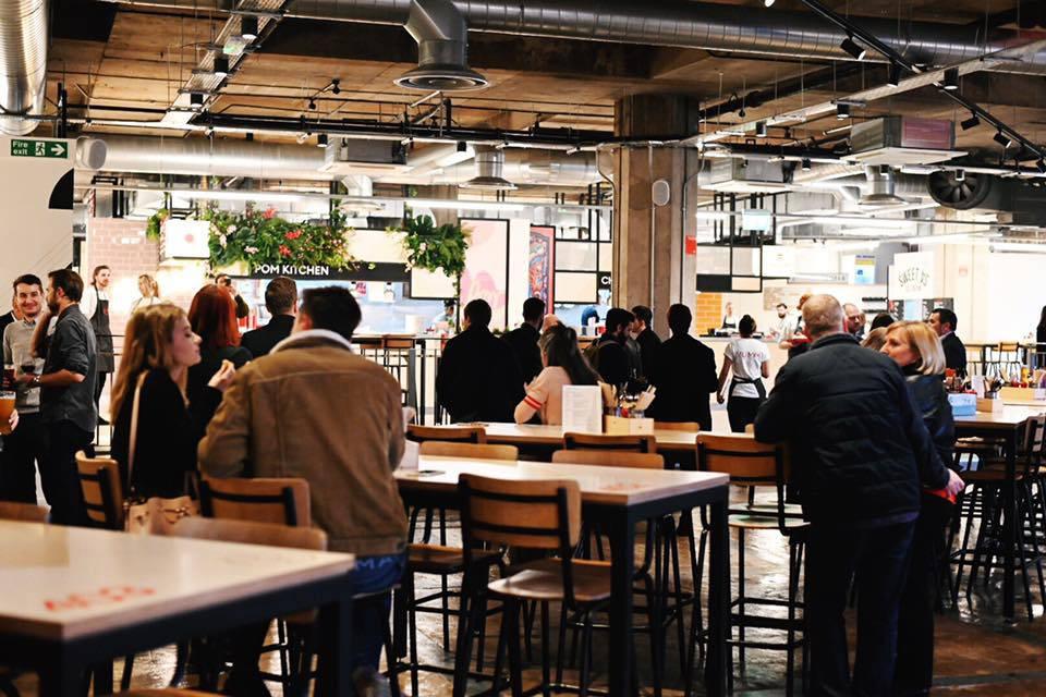 Kommune Sheffield Castlegate Food Hall Interior