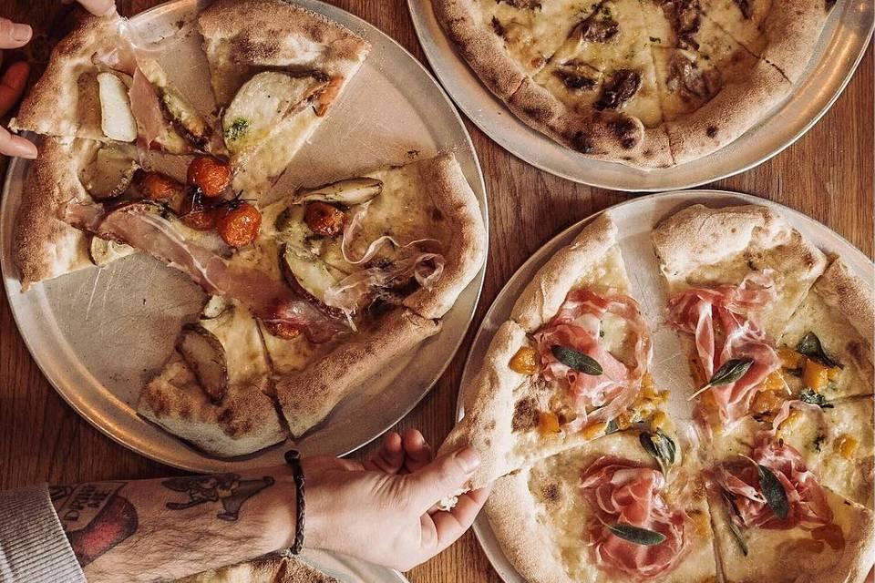 LIVIN Italy Dough House Leeds Pizzas
