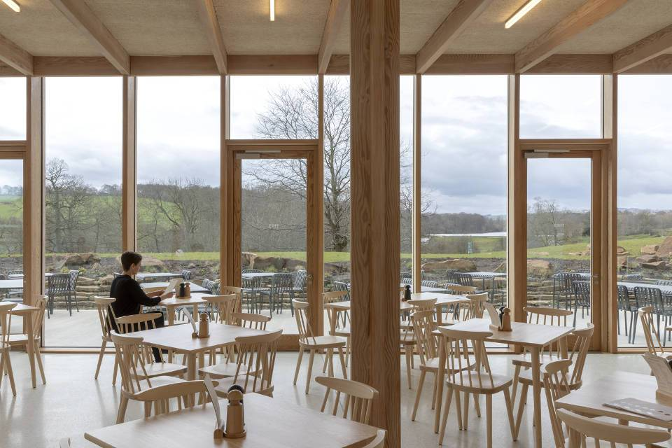 Yorkshire Sculpture Park Weston Restaurant Interior