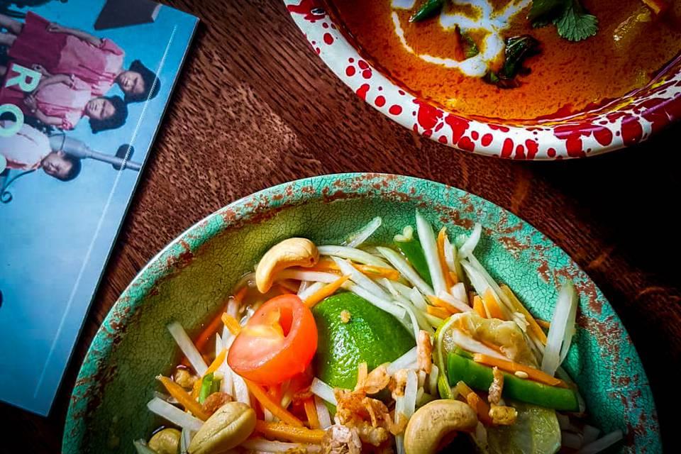 Rosas Thai Cafe Leeds Food