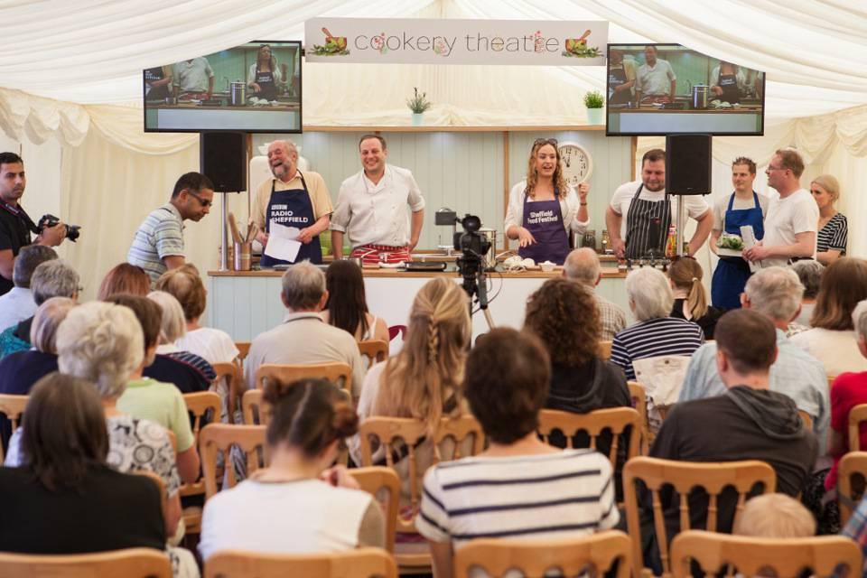 Sheffield Food Festival Chef Demo
