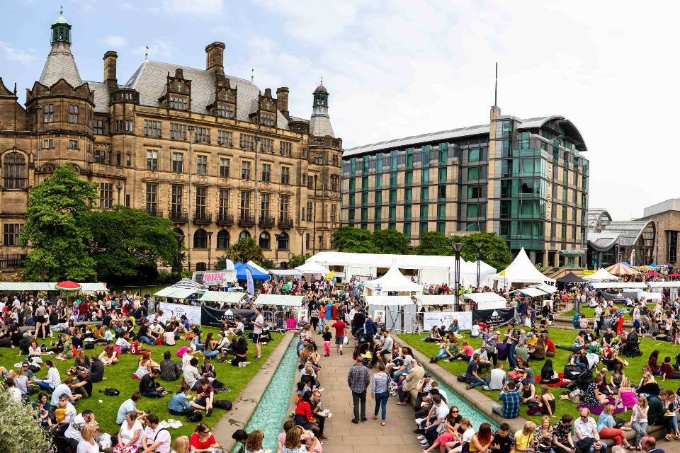 Sheffield Food Festival May Bank Holiday Events Yorkshire