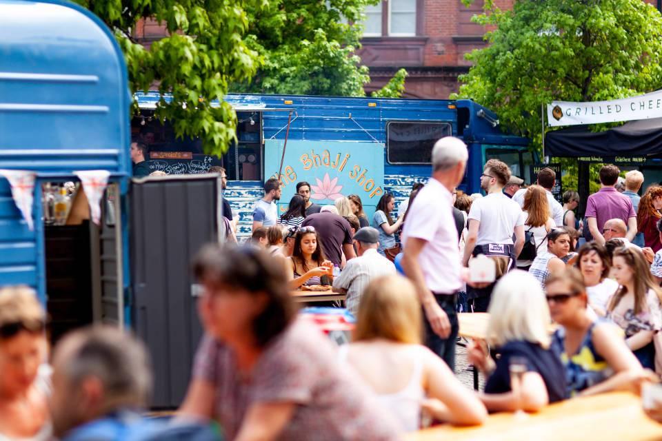 Sheffield Food Festival Street Food Crowd