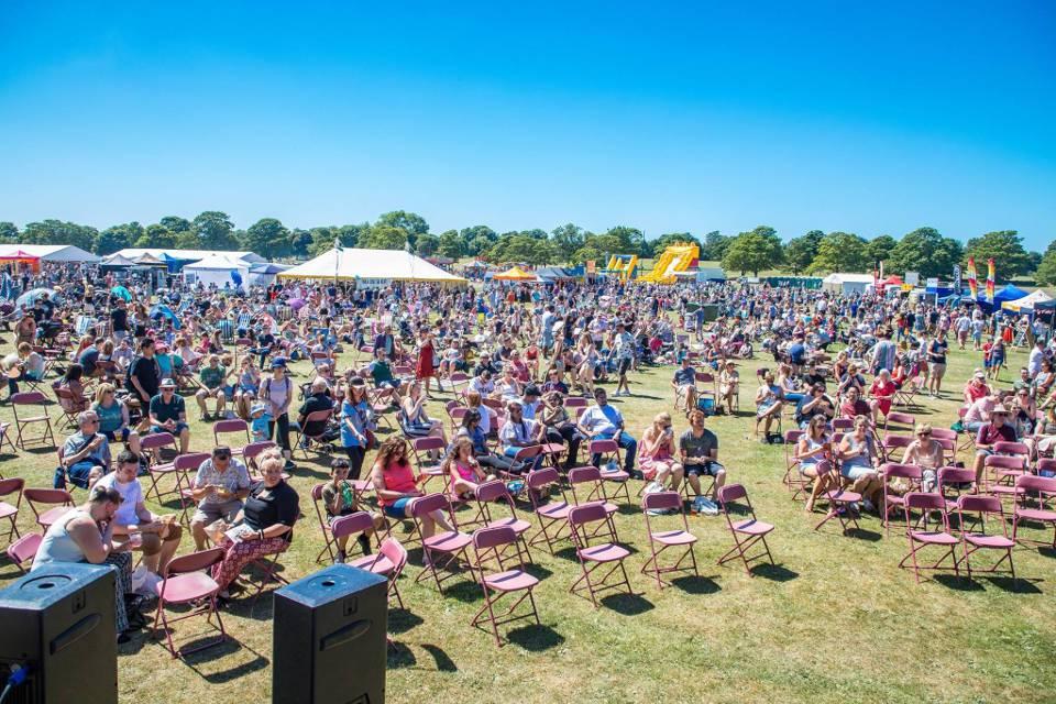 Harrogate Food Festival Ripley Castle Crowd