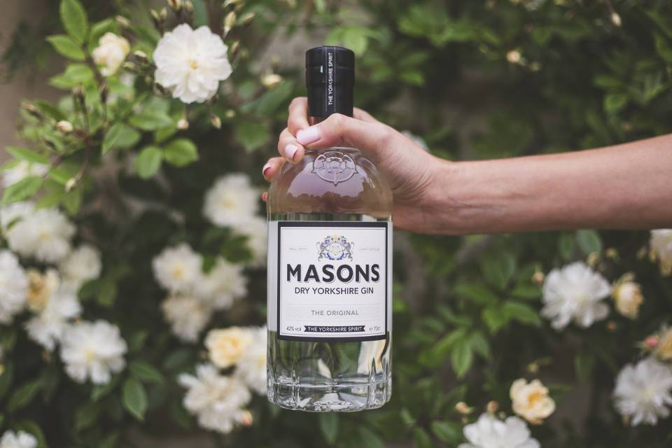 Masons Yorkshire Gin Bottle - Best Yorkshire Gins Guide