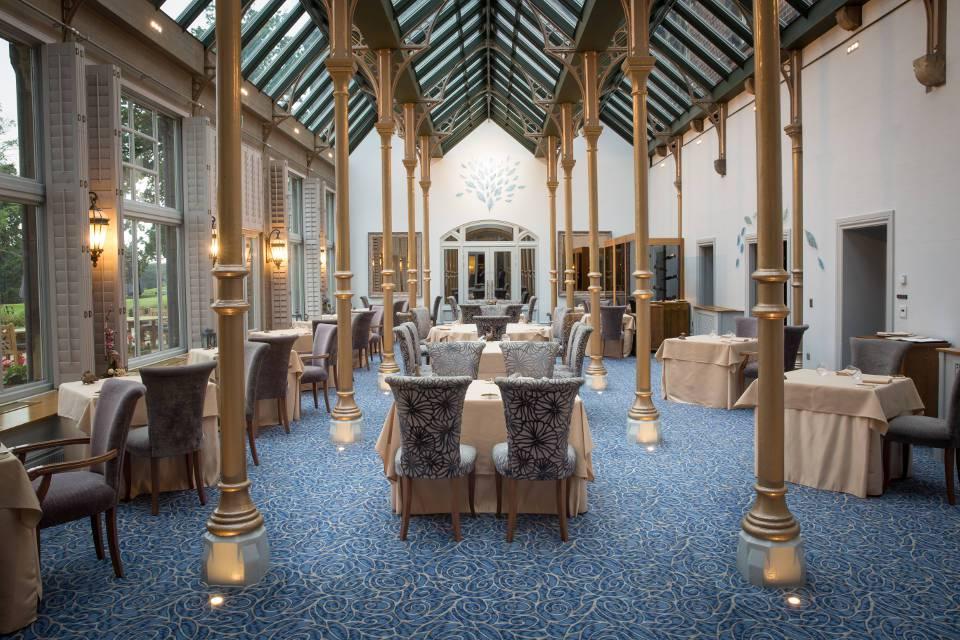 Orangery Restaurant Rockliffe Interior