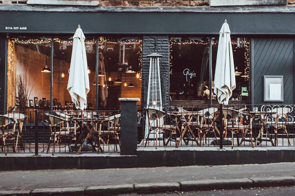 Gigi's Cucina Sheffield Exterior