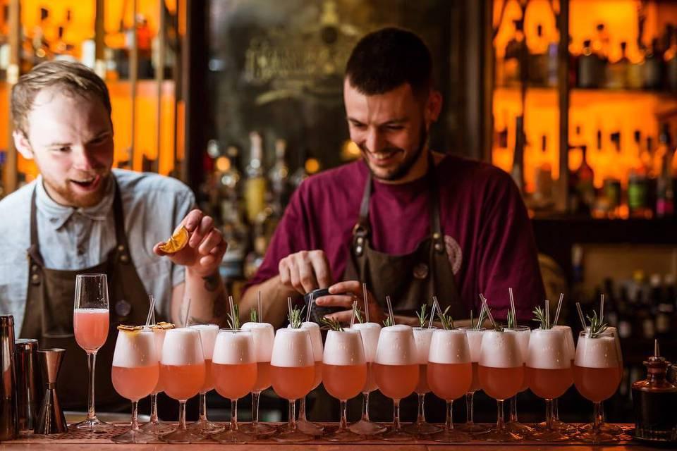 Slingsby Leeds Gin Journey Cocktails