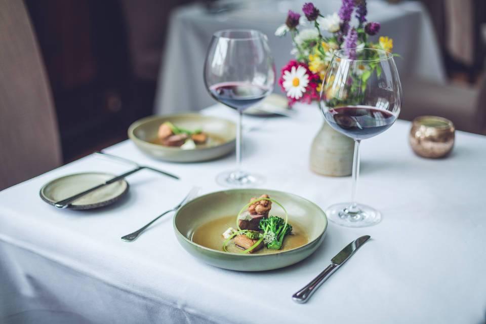 Hudons Wine Club Dinner July Dish