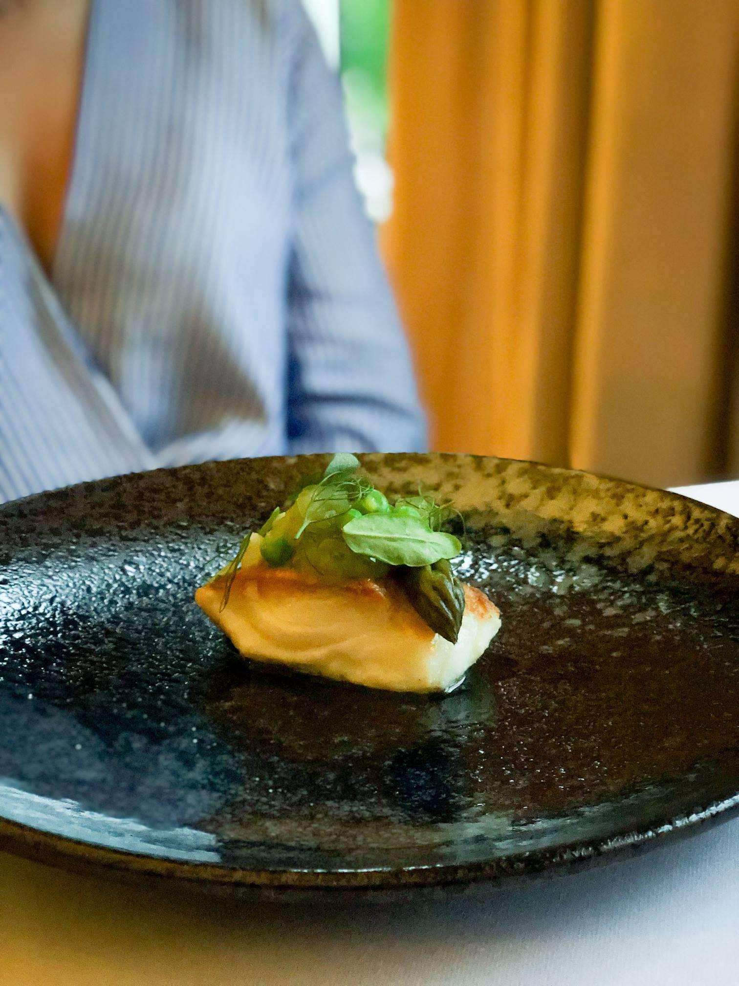 Cod, Bow Room Restaurant at Grays Court York