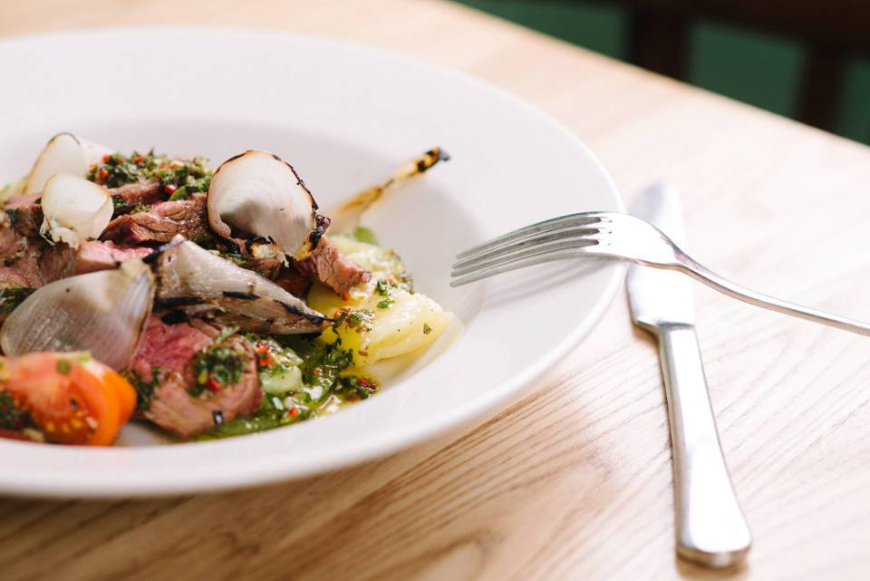 Arts Restaurant Leeds Lamb Dish