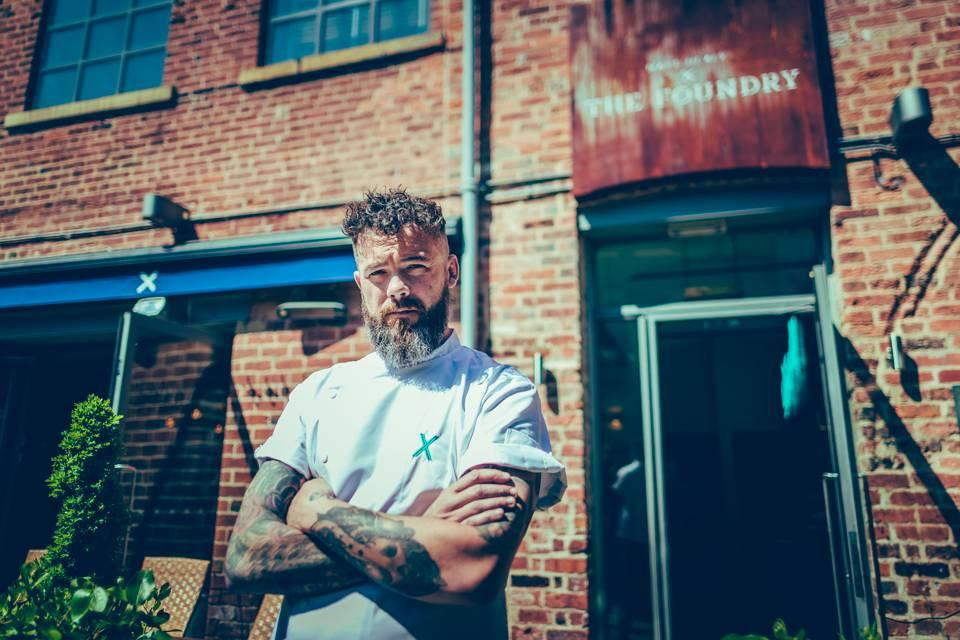 Chef Matt Healy of The Beehive Thorner