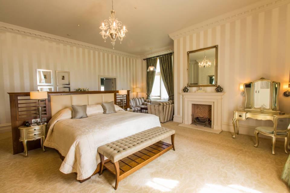 Old Hall Bedroom at Rockliffe Hall Hotel