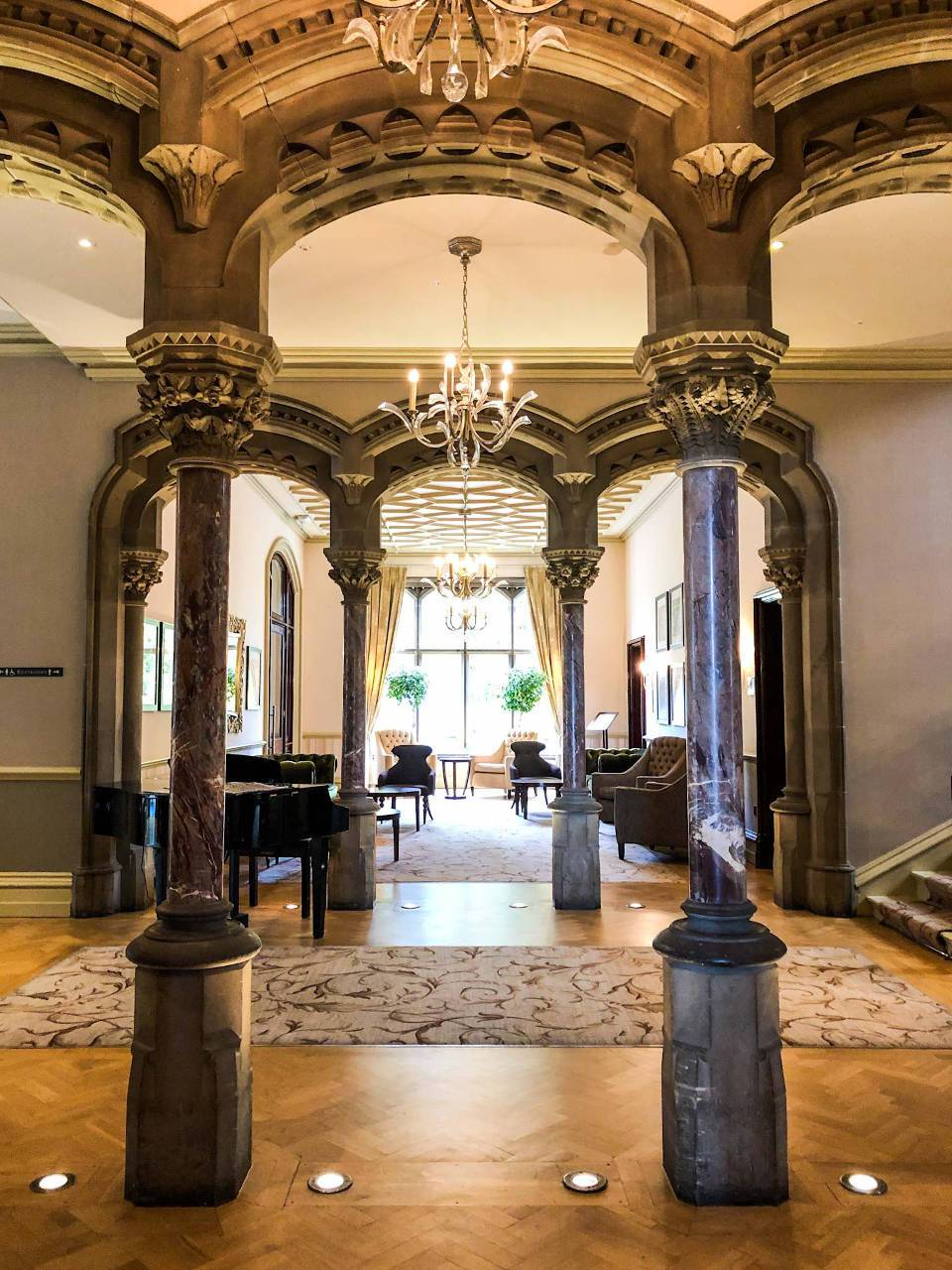 Rockliffe Hall Old Hall features