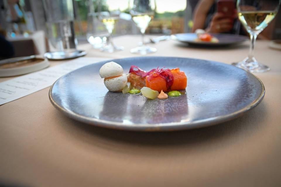 Rockliffe Hall Orangery Restaurant Starter