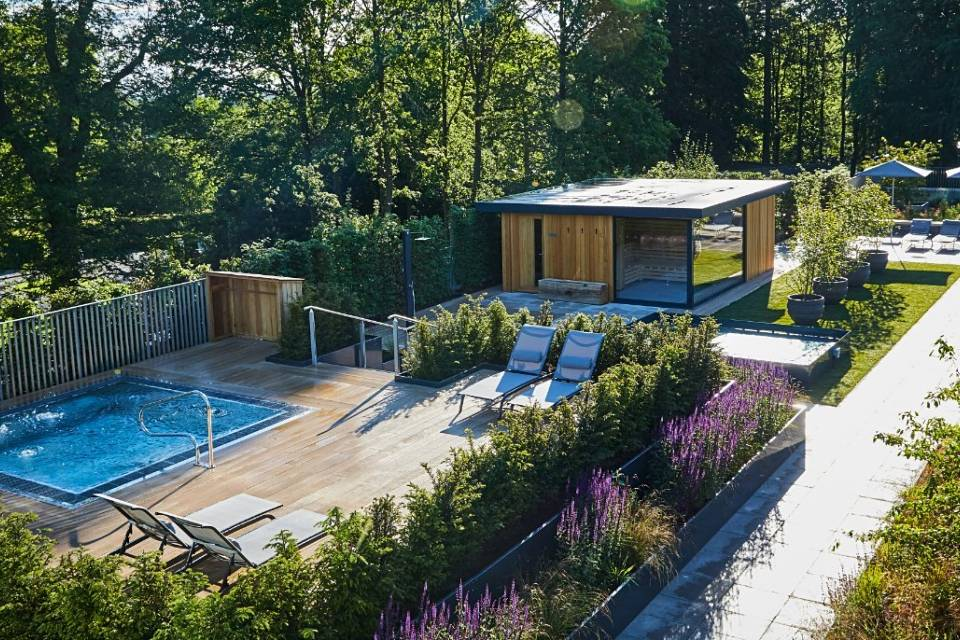 Rooftop Pool at Rudding Park Hotel's Spa in Harrogate