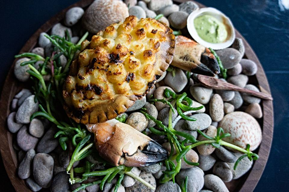 The Owl Leeds crab dish