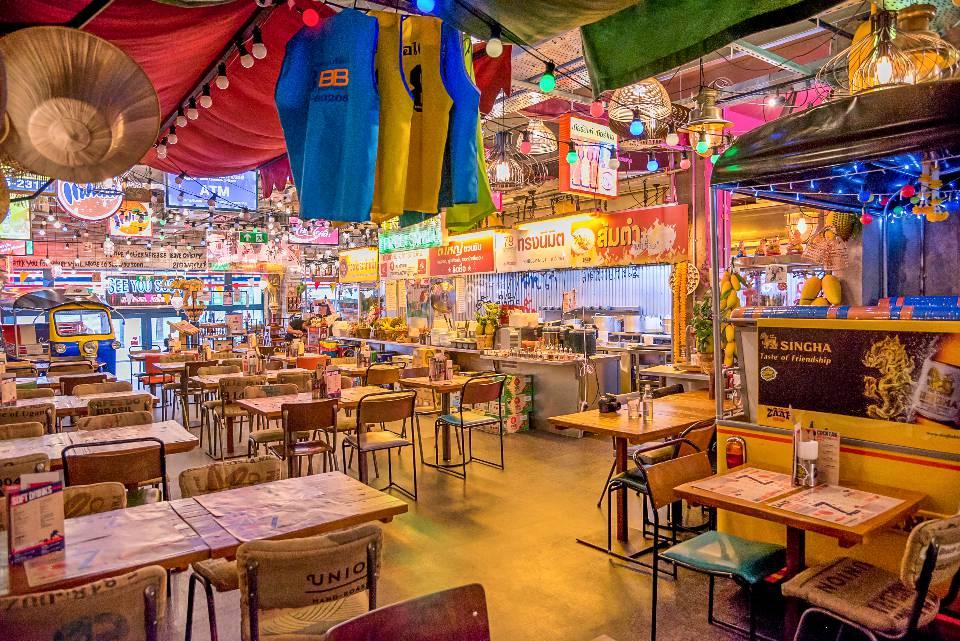 ZAAP Thai York restaurant interior