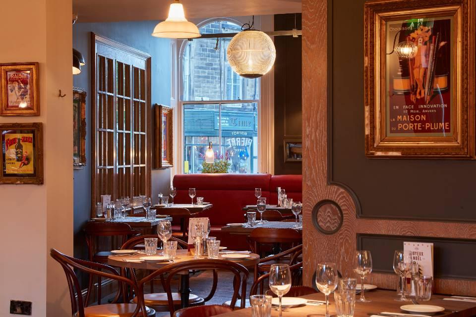 Bistrot Pierre restaurant interior