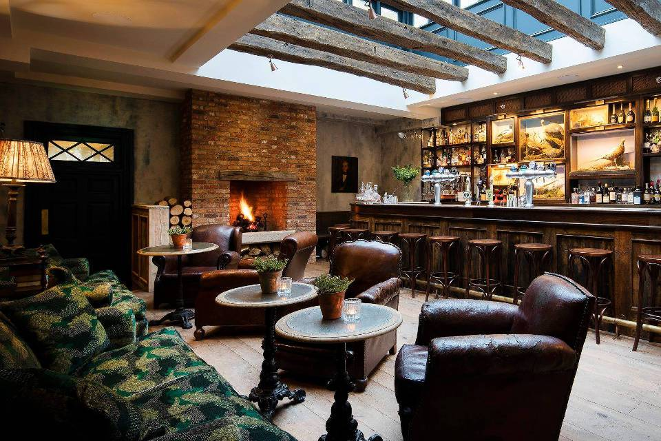 The Talbot Boutique Hotel Bar Malton