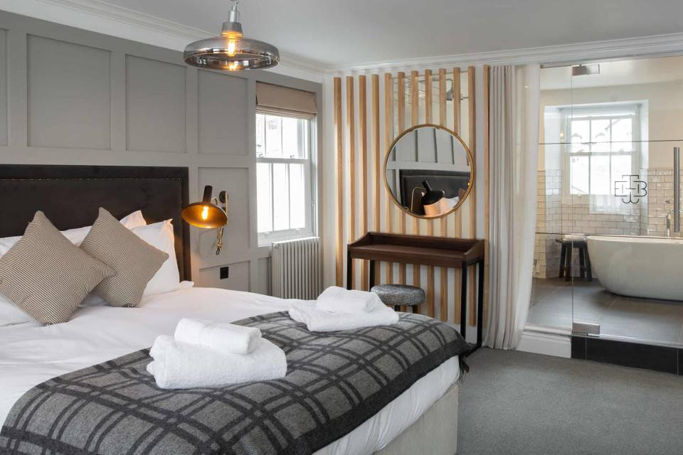 black bull sedbergh hotel bedroom